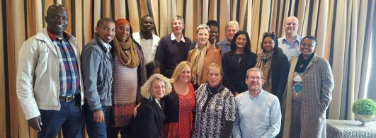 Participants at the 2016 Care-Leaving Research Seminar, hosted by Prof Adrian van Breda at the University of Johannesburg (South Africa), and cofacilitated by Prof John Pinkerton from Queen's University Belfast (Northern Ireland).