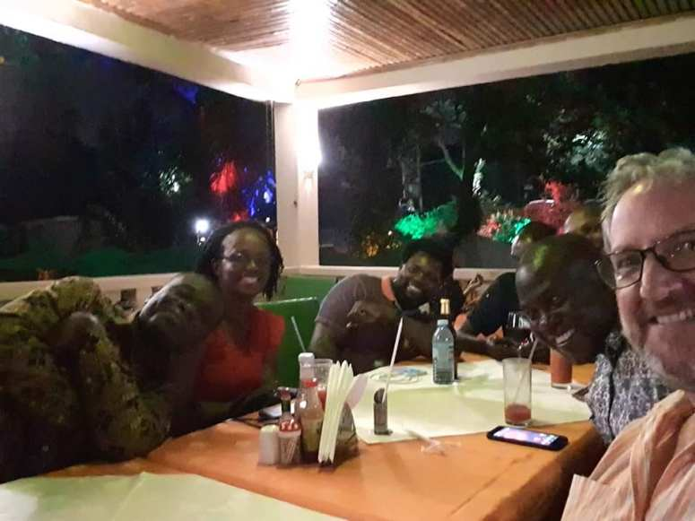 BPF Kampala dinner